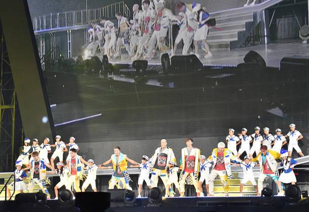 "『GENERATIONS LIVE TOUR 2018 ""UNITED JOURNEY""』@東京ドーム"