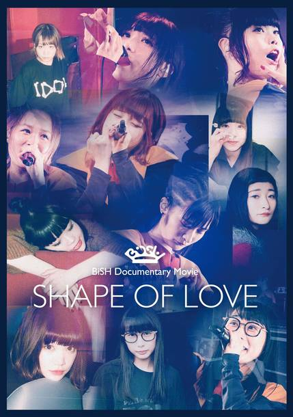 "Blu-ray&DVD『BiSH Documentary Movie ""SHAPE OF LOVE""』【通常盤】"