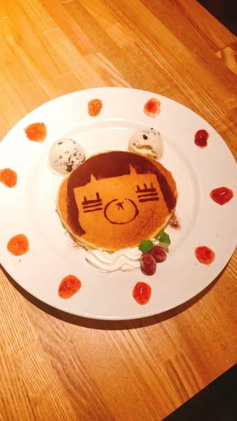 「れ子ちゃんパンケーキ」