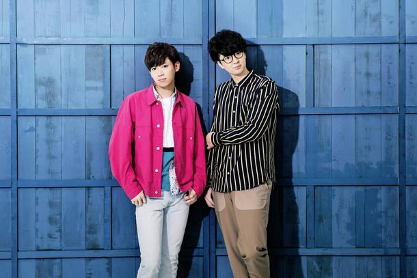 吉田理幹(Pf&Vo)、佐々木陽吾(Gu&Vo)