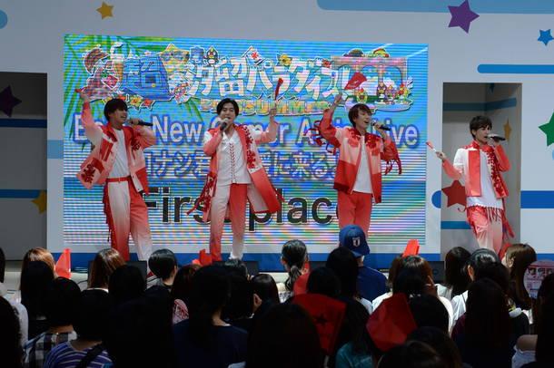 8月17日@『超☆汐留パラダイス!-2018SUMMER- Being NewComer Artist Live 〜コナン君も応援に来るよ!!〜』(First place)