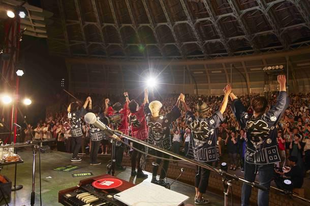 8月19日@ 上野恩賜公園水上野外音楽堂