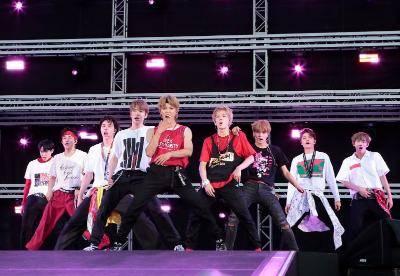 8月25日@『a-nation』東京公演(NCT 127)