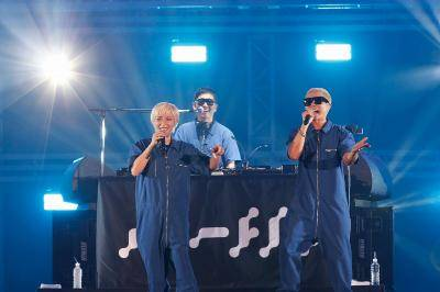 8月25日@『a-nation』東京公演(m-flo)