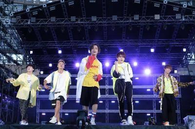 8月25日@『a-nation』東京公演(Da-iCE)