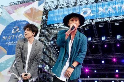 8月25日@『a-nation』東京公演(CHEMISTRY)