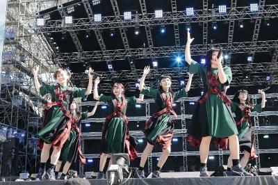 8月25日@『a-nation』東京公演(BiSH)