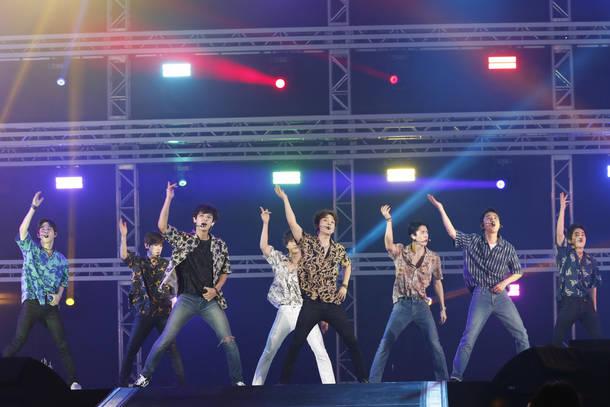 8月26日@『a-nation』東京公演(EXO)