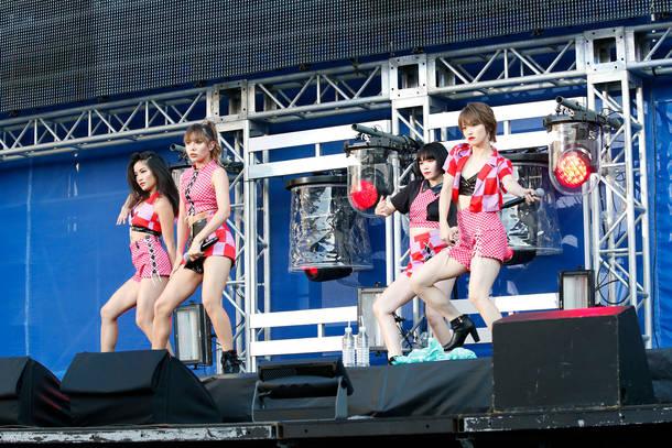 8月26日@『a-nation』東京公演(FAKY)