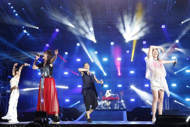 8月26日@『a-nation』東京公演(TRF)