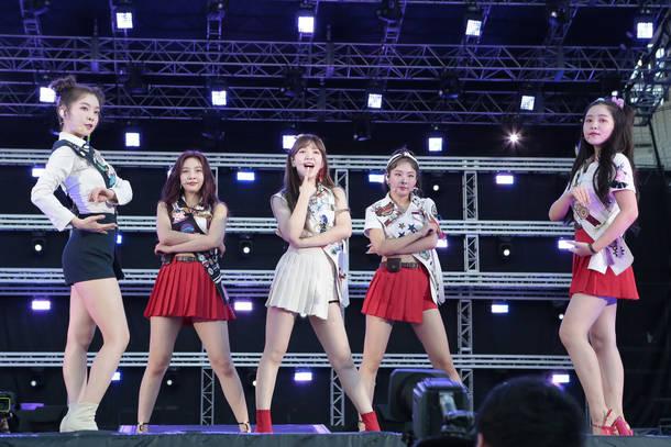 8月26日@『a-nation』東京公演(Red Velvet)