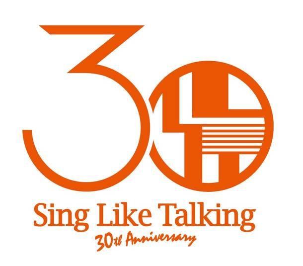 SING LIKE TALKING 30周年 ロゴ