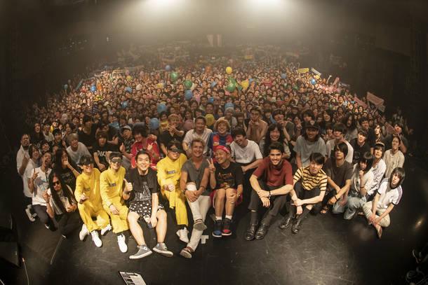 2018年8月22日 at 新木場STUDIO COAST 撮影:古溪一道