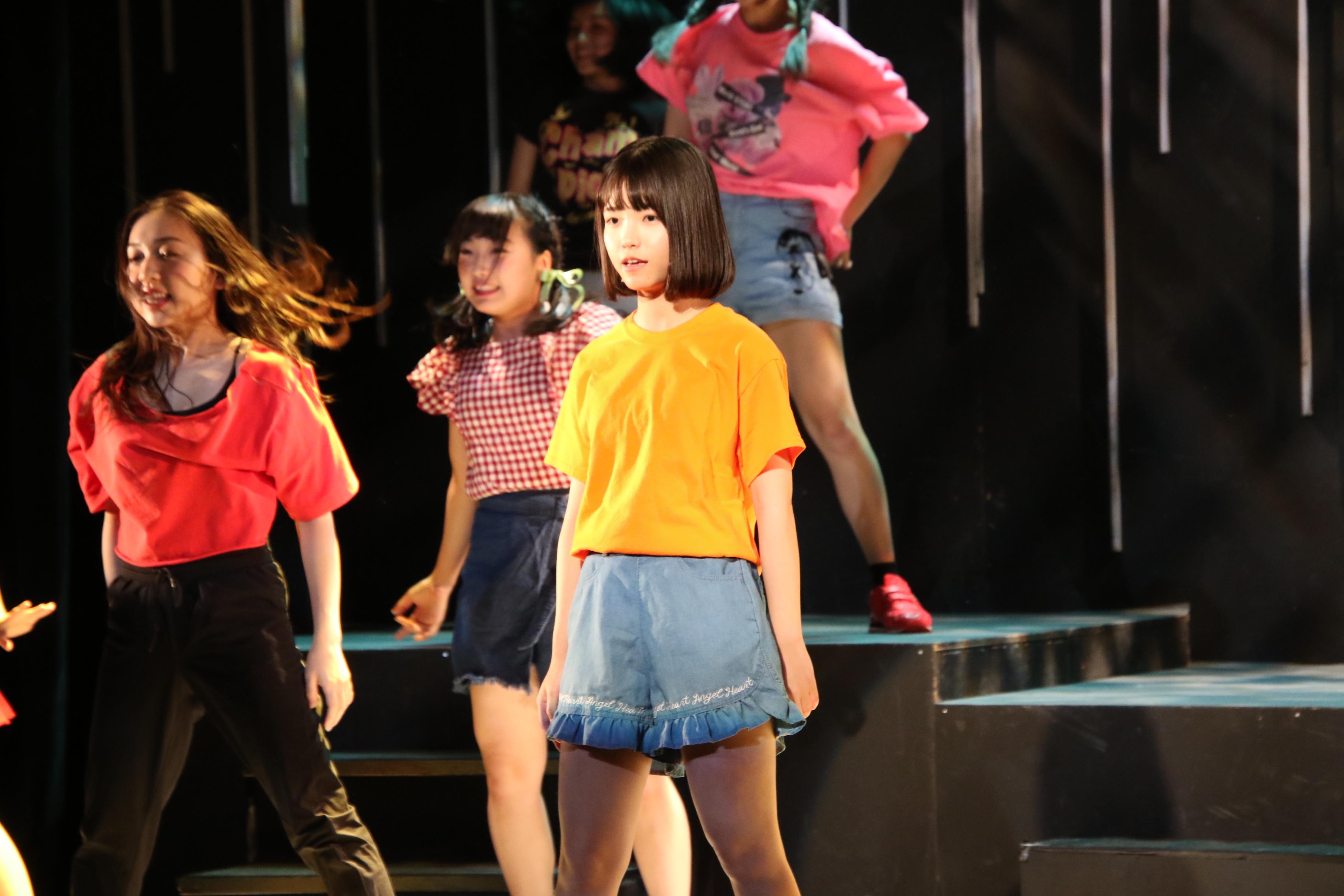 舞台「ダンスレボリュ―ション~ホントのワタシ~」で山川いろは役を演じる高橋彩音