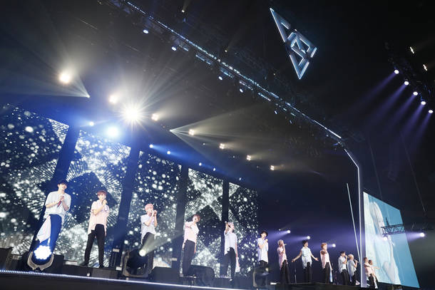 "『2018 SEVENTEEN CONCERT ""IDEAL CUT""IN JAPAN』@さいたまスーパーアリーナ  (C)PLEDIS"