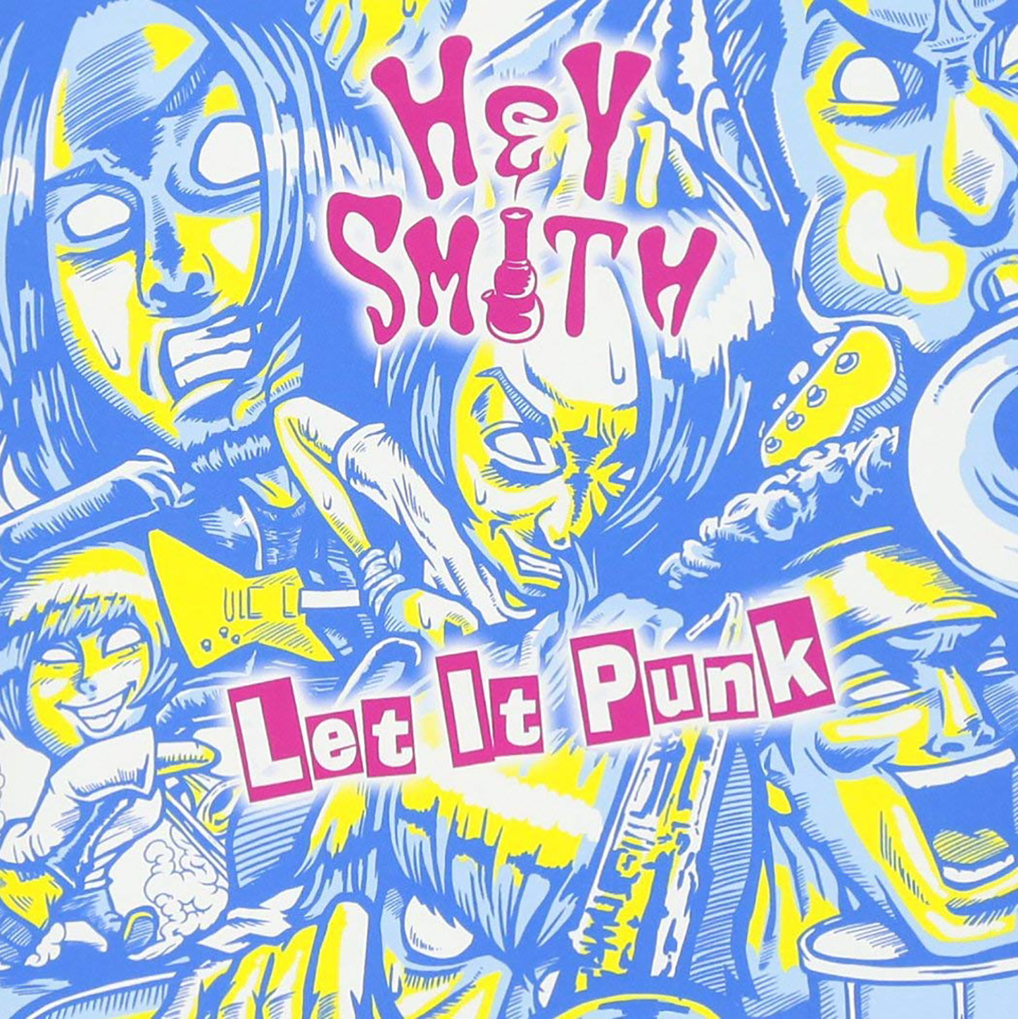 「Let It Punk」収録アルバム『Let It Punk』/HEY-SMITH