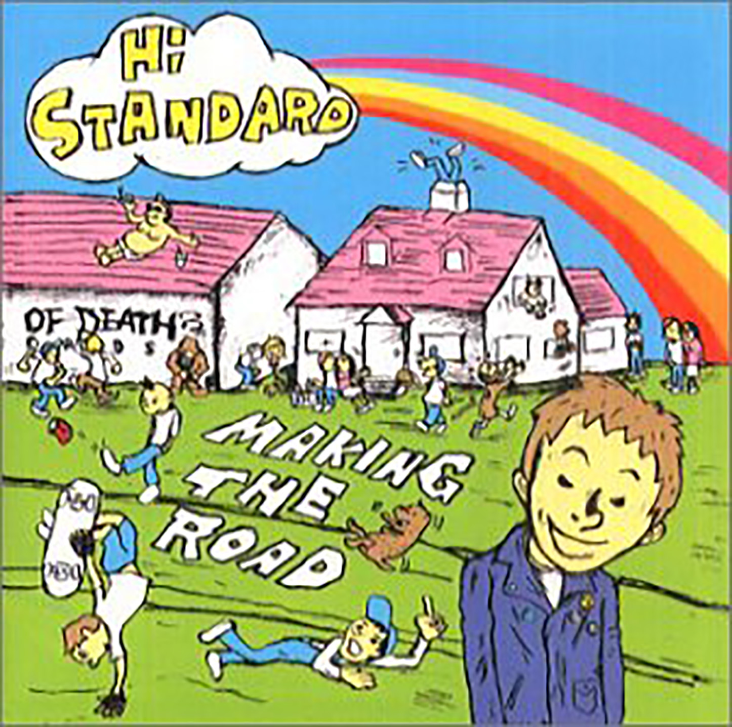 「Stay Gold」収録アルバム『MAKING THE ROAD』/Hi-STANDARD
