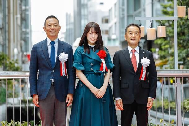 9月13日@渋谷ストリーム(開業記念テープカット)
