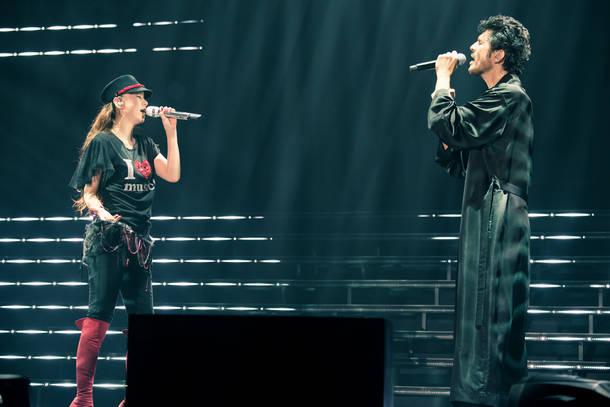 9月15日(土)@『We ♥ NAMIE HANABI SHOW supported by セブン-イレブン』(安室奈美恵 with 平井堅)