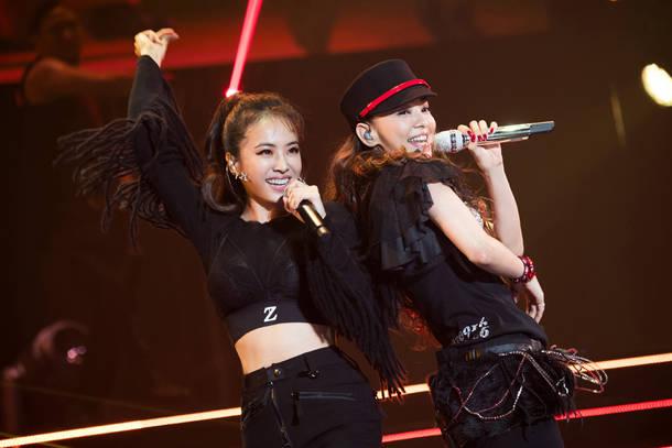 9月15日(土)@『We ♥ NAMIE HANABI SHOW supported by セブン-イレブン』(安室奈美恵 with ジョリン・ツァイ)