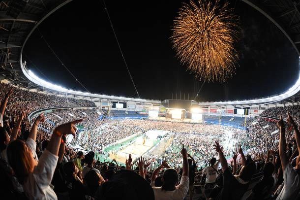 2018年9月9日 at ZOZOマリンスタジアム(Hi-STANDARD)photo by 本田裕二