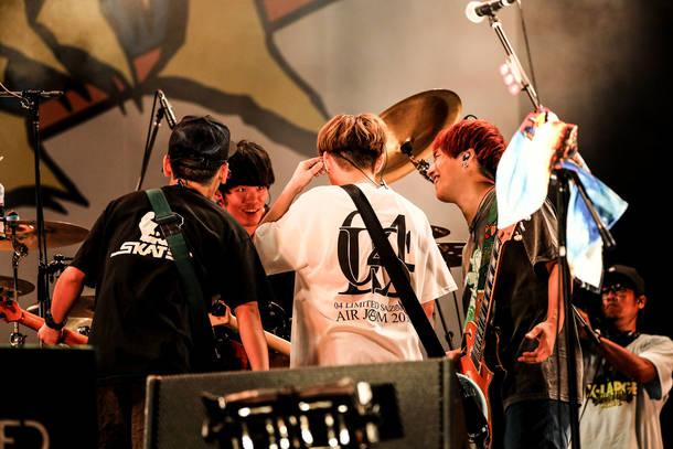 2018年9月9日 at ZOZOマリンスタジアム(04 Limited Sazabys)photo by Kohei Suzuki