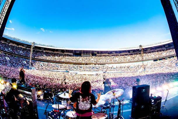 2018年9月9日 at ZOZOマリンスタジアム(マキシマム ザ ホルモン)photo by 浜野カズシ