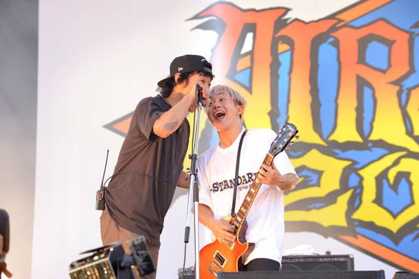 2018年9月9日 at ZOZOマリンスタジアム(SiM)photo by 半田安政(Showcase)