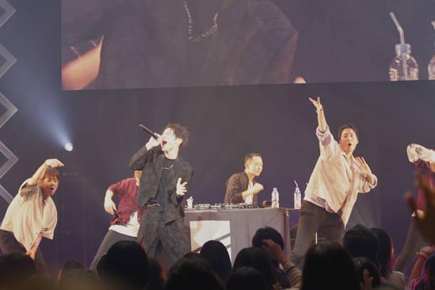 9月23日(日)@『めざましライブ〜日本お元気キャラバン』(SKY-HI)