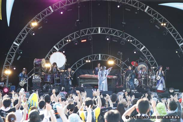 9月22日@『イナズマロック フェス 2018』(和楽器バンド)