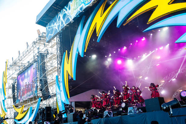 9月22日@『イナズマロック フェス 2018』(欅坂46)