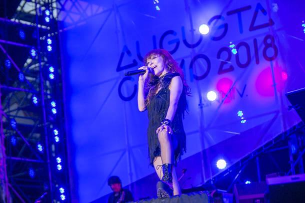 9月23日@『Augusta Camp 2018 -20th Anniversary- Presented by The PREMIUM MALT'S』(杏子)