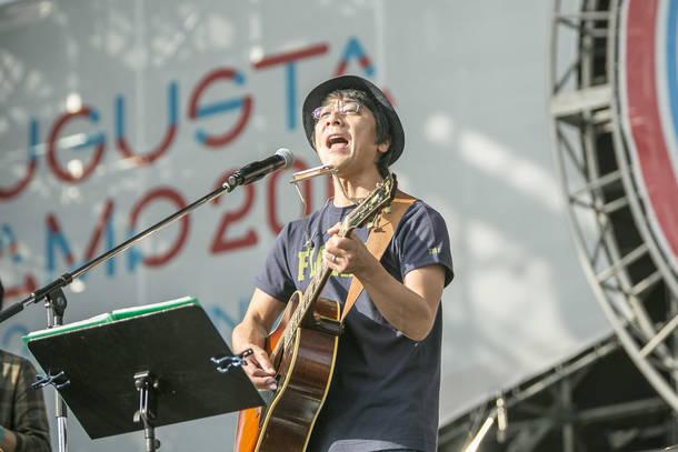 9月23日@『Augusta Camp 2018 -20th Anniversary- Presented by The PREMIUM MALT'S』(山崎まさよし)