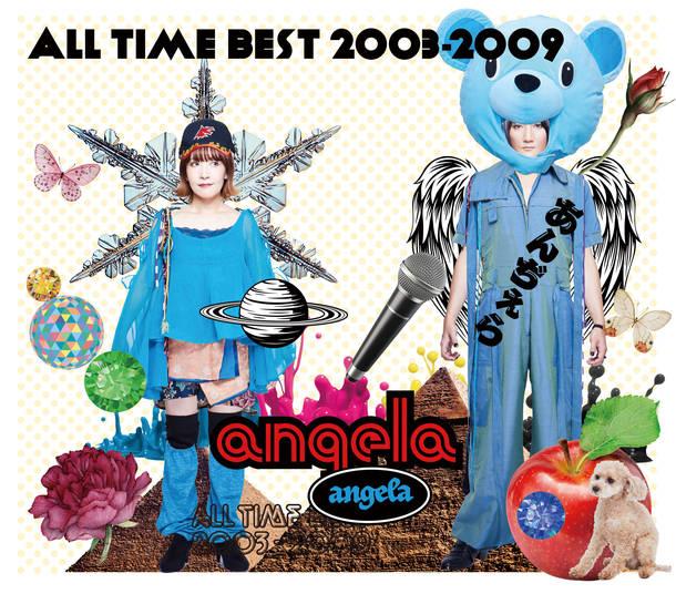 アルバム『angela All Time Best 2003-2009 』DIYジャケット用ケース