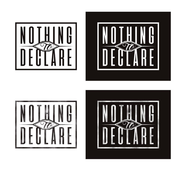 Nothing To Declareロゴ