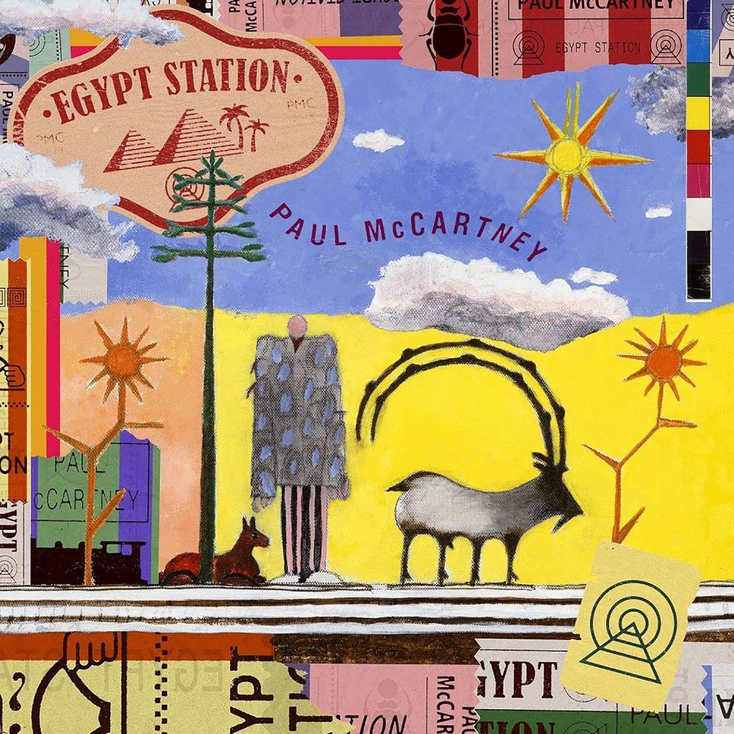 「Back In Brazil」収録アルバム『エジプト・ステーション』/Paul McCartney