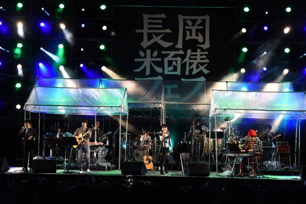 10月7日『長岡 米百俵フェス ~花火と食と音楽と~ 2018』(福耳)