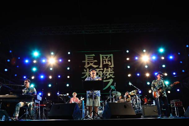 10月6日『長岡 米百俵フェス ~花火と食と音楽と~ 2018』(BEGIN)