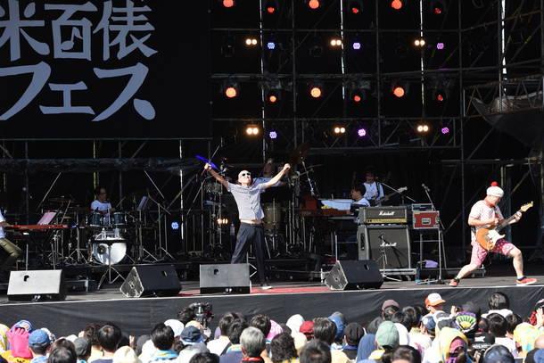 10月6日『長岡 米百俵フェス ~花火と食と音楽と~ 2018』(サンプラザ中野くん&パッパラー河合)