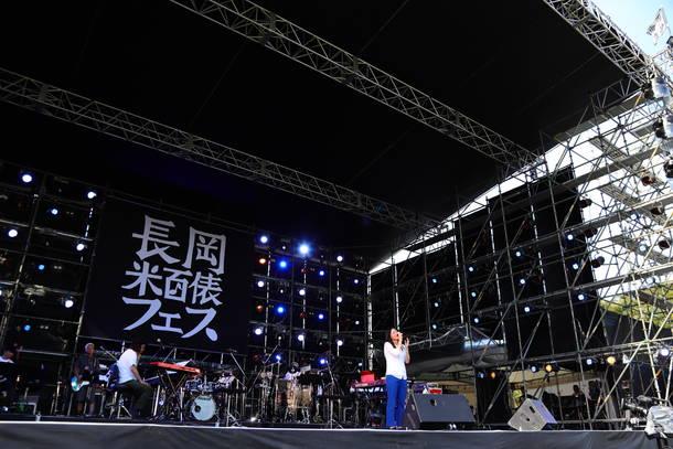 10月6日『長岡 米百俵フェス ~花火と食と音楽と~ 2018』(琴音)