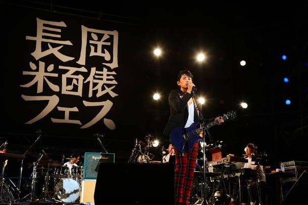 10月6日『長岡 米百俵フェス ~花火と食と音楽と~ 2018』(藤木直人)