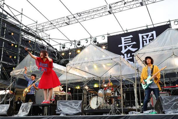 10月7日『長岡 米百俵フェス ~花火と食と音楽と~ 2018』(Shiggy Jr.)
