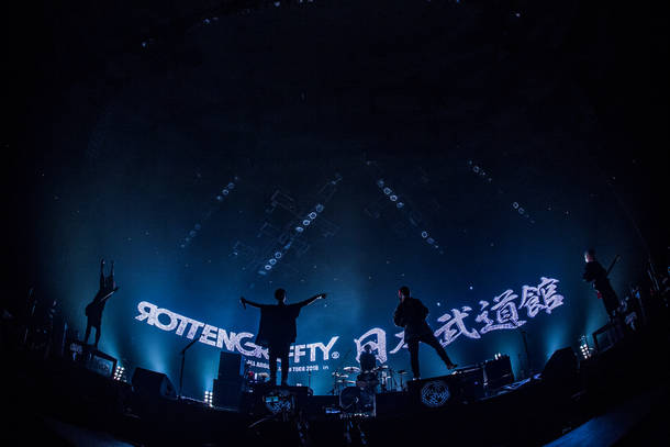 【ROTTENGRAFFTY ライヴレポート】
