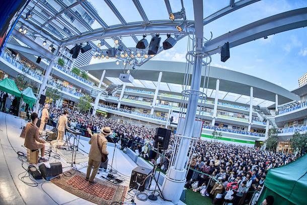 10月14日@ラゾーナ川崎 Photo by 近澤幸司