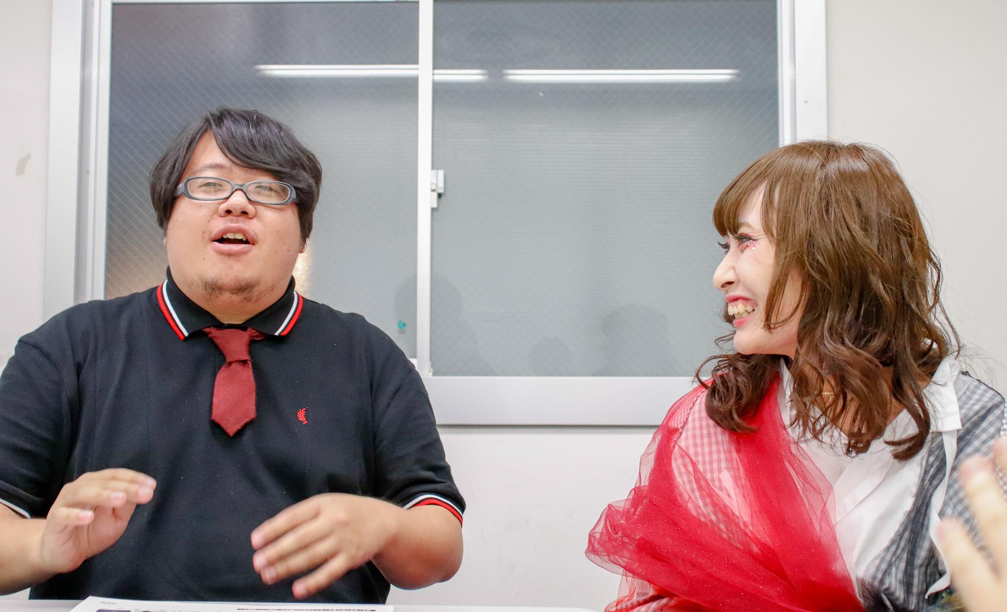 G-NEXT POWER PUSH !  嘘とカメレオン チャム(.△)(Vo)、渡辺壮亮(Gu&Cho)