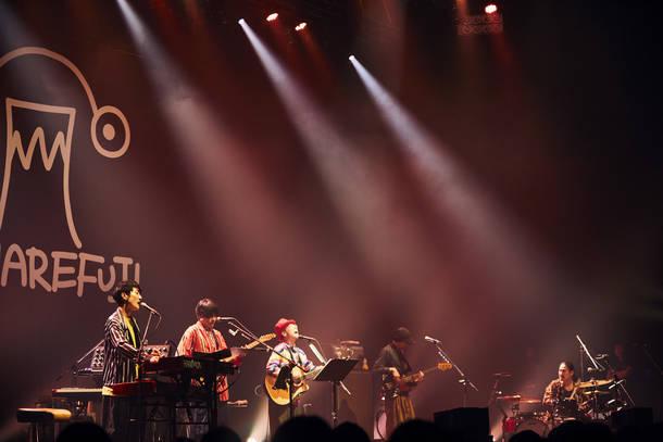 """【ハナレフジ ライヴレポート】 『ハナレフジ LIVE TOUR """"宝船"""" 〜僕らはすでに持ち合わせている〜』2018年10月11日  at Zepp DiverCity TOKYO"""