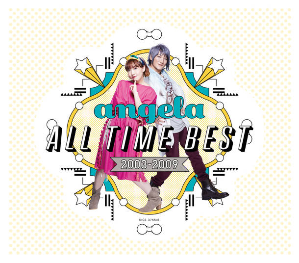 アルバム『angela All Time Best 2003-2009 』