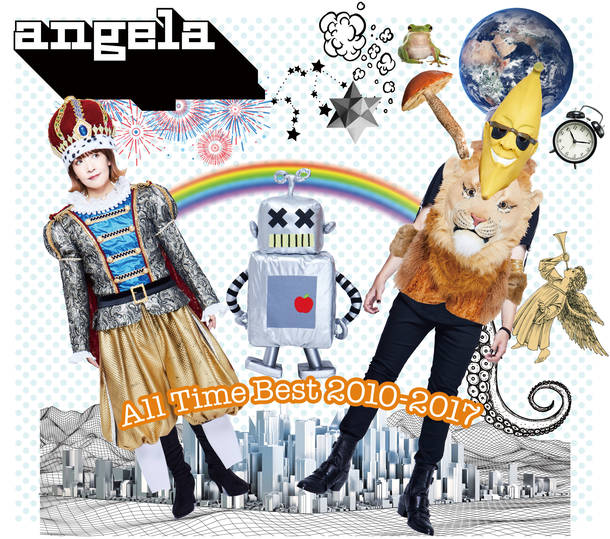 アルバム『angela All Time Best 2010-2017』 DIYジャケット用ケース
