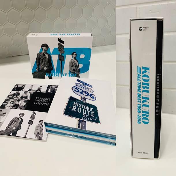 アルバム『ALL TIME BEST 1998-2018』【ファンサイト会員限定盤】(4CD+DVD+BOOK)