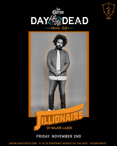 『Jose Cuervo presents DAY OF THE DEAD at 1 OAK TOKYO』